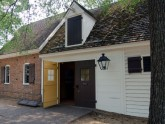 Authentically restored buildings capture the feeling of Colonial Virginia