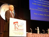 Dr. Banks delivers the 2nd annual 2007 Emily Couric Lecture at the ACG Annual Meeting in Philadelphia. October 16, 2007