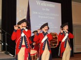 Fife and drum corps welcomes attendees to the 2008 VGS Postgraduate Course in Gastroenterology.