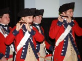 The fife and drum corps is the traditional start to the meeting