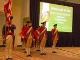 Fife and drum corps open the 2010 Postgraduate Course in Gastroenterology,
