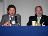 Hepatology panel discussion featuring Todd Stravitz, MD and Jorge Herrera, MD, FACG