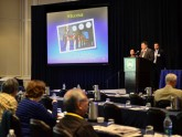 Drs. Andrew Wang and Jayant Talreja, course co-directors, welcome attendees to the 2014 meeting.